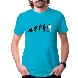 Vodáci Pánské tričko Evoluce vodáka