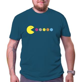 Sport Pánské tričko Pacman likes florbal