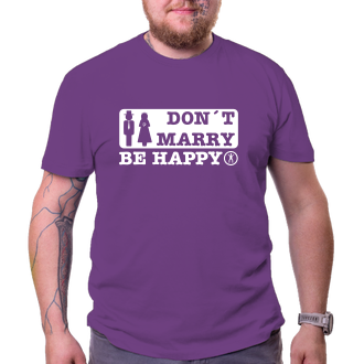 Svatební Don't marry - be happy
