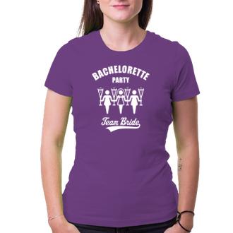 Rozlučka se svobodou Tričko Bachelorette party - team bride