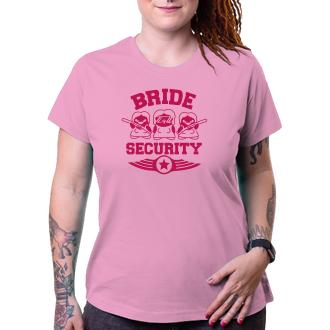 Rozlučka se svobodou Tričko pro družičky Bride security
