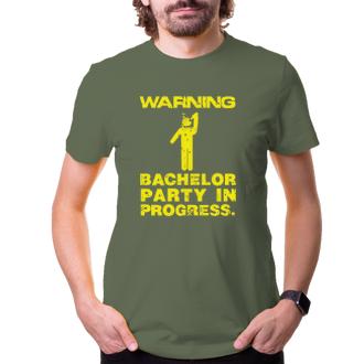 Rozlučka se svobodou Warning: bachelor party in progress