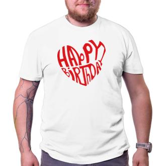 K narozeninám Narozeninové tričko Happy birthday boy