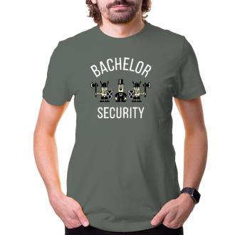 Rozlučka se svobodou Tričko na rozlučku Bachelor security