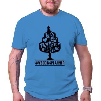 Svatební Pánské tričko Buďme upřímní