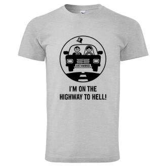Svatební Triko Highway to hell