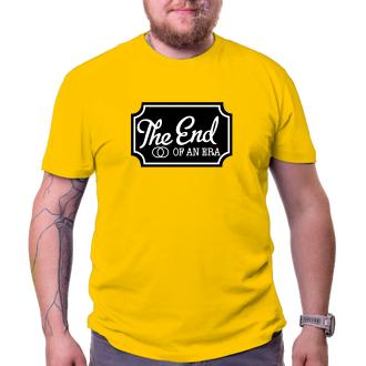 Rozlučka se svobodou Pánské tričko The end of an era