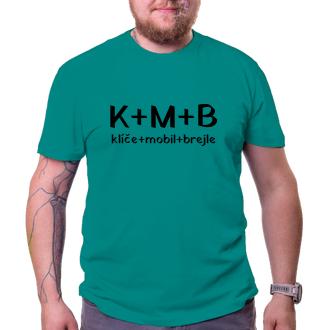 Vtipné tričko K+M+B