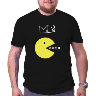 Pro páry Trička pro zamilované Mr. Pacman