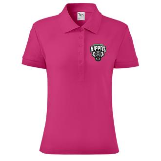 Polo trika Polo Hroši HB dámské růžové