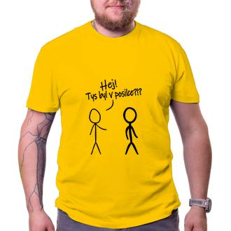 Posilka Pánské tričko Posiloval jsi