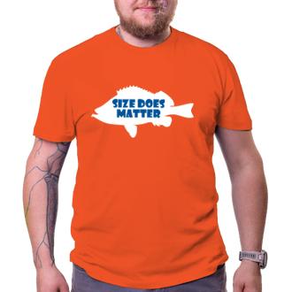 Rybáři Pánské tričko Size does matter