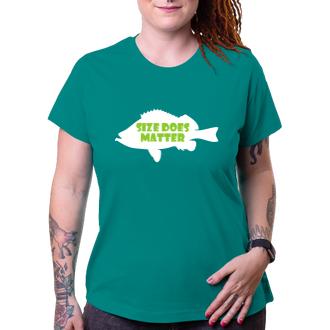 Rybáři Dámské tričko Size does matter