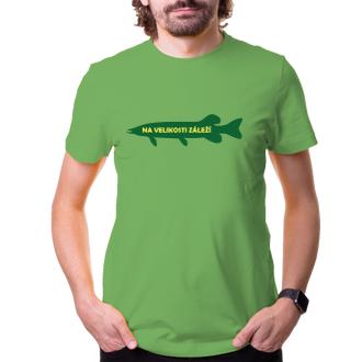 Rybáři Pánské tričko Na velikosti záleží