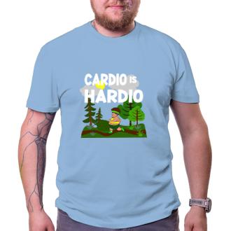 Posilka Tričko Cardio hardio colour