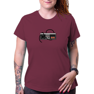 Gaming Dámské tričko NES gamepad