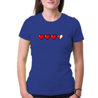 Dámské tričko Hearts pixel