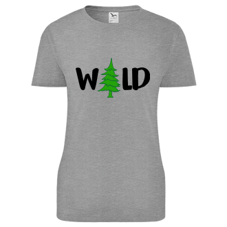 Houbaři Dámské tričko Wild
