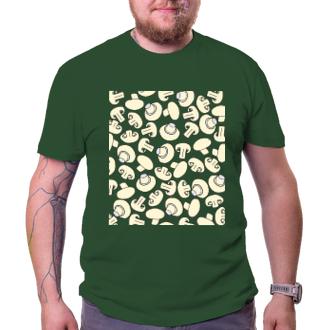 Houbaři Pánské tričko Žampiony