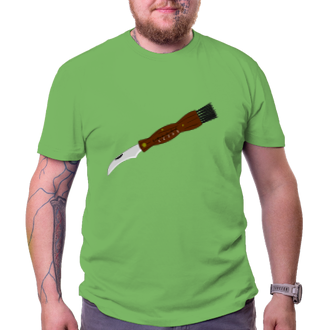 Houbaři Tričko Houbařský nožík