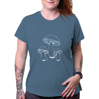 Houbaři Dámské tričko Houby