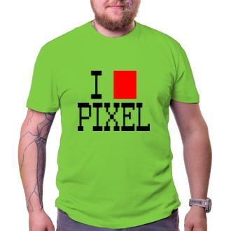 Pánské tričko Pixel lover
