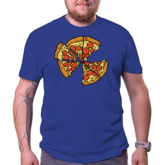 Pro těhotné Pánské tričko Pizza rodina táta