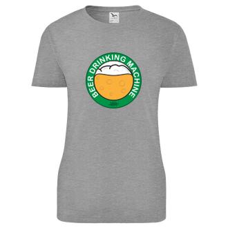 Alkohol Dámské tričko Beer drinking machine