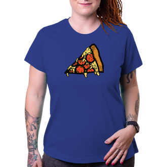 Tričko Pizza rodina máma