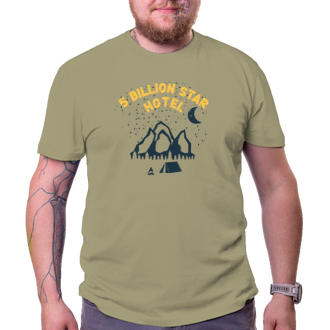 Cestování Tričko 5 billion star hotel