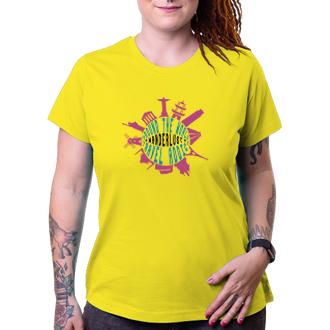 Cestování Dámské tričko Around the world