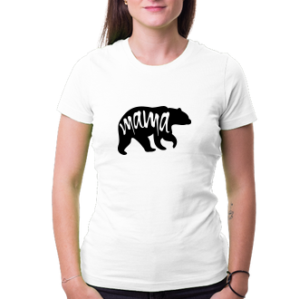 Tričko pro mámu Mama bear