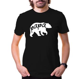 Pánské tričko Papa bear