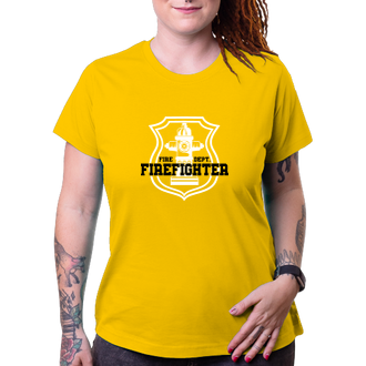 Hasiči Tričko pro hasiče Fire dept