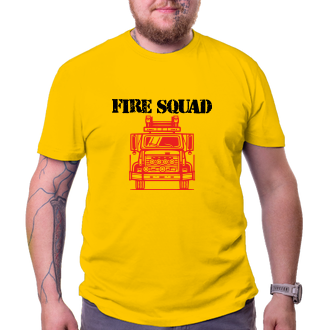 Hasiči Tričko pro hasiče Fire squad