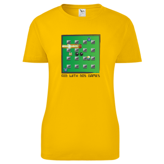 Geek Dámské tričko Hráčka Dos games