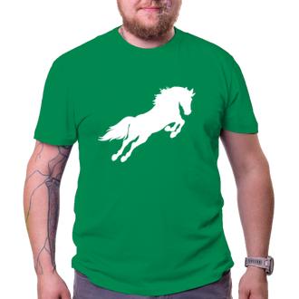 Koně a koňáci Pánské tričko Horse