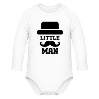 Bodýčka Dětské body pro kluka Little man