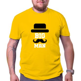 Pro tatínky Tričko pro tátu Big man