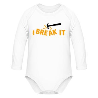 Bodýčka Dětské body pro ničitele Break it