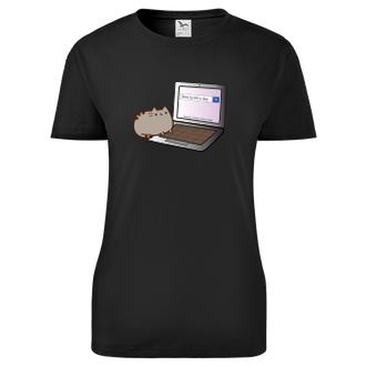 Dámské tričko Cat kill dog
