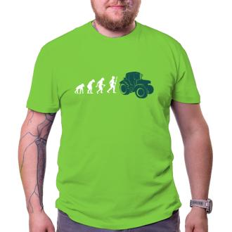Zemědělci Tričko Zemědělec evolution