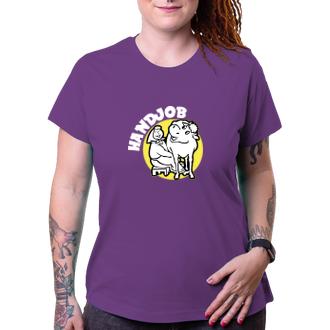 Dámské tričko Handjob babka