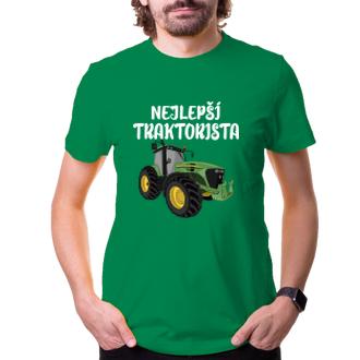 Zemědělci Pánské tričko Nejlepší traktorista