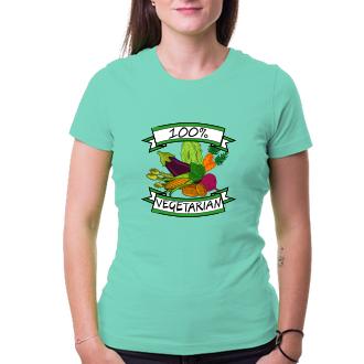 Dámské tričko 100% vege