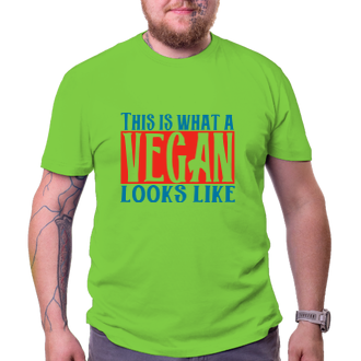 Vegetariáni a vegani Tričko Takhle vypadá vegan