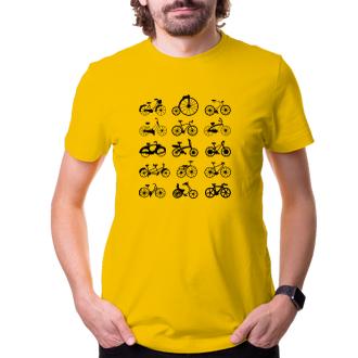 Cyklisté Tričko Kola
