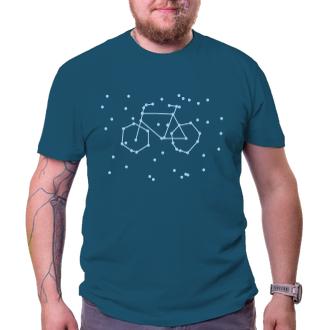 Cyklisté Tričko Hvězdné kolo
