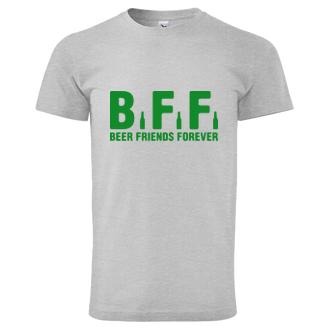 Vtipné tričko Beer friends forever
