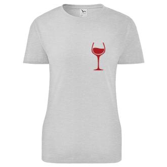Dámské tričko Wine is my love